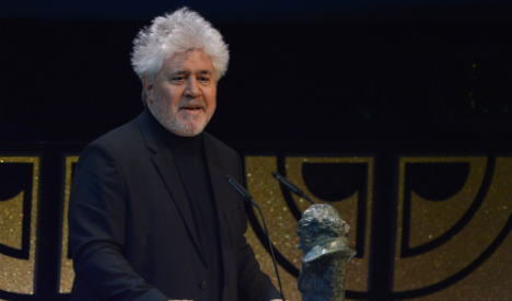 Almodóvar's latest to compete for top prize at Cannes