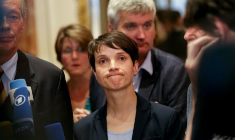 Far-right leader Petry under investigation for perjury