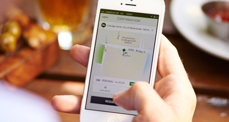 Swiss taxi drivers to protest against Uber once again