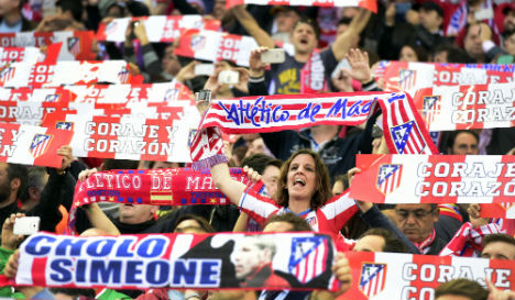 Fleet of jets take Madrid fans to Champions League final