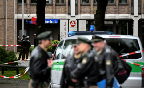 Police shoot man in front of Munich job centre