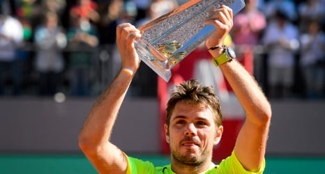 Swiss champ wins first title on home soil