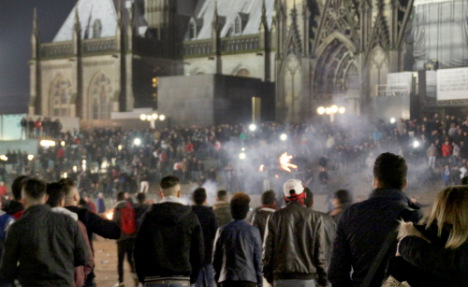 Video emerges of Cologne New Year's Eve violence