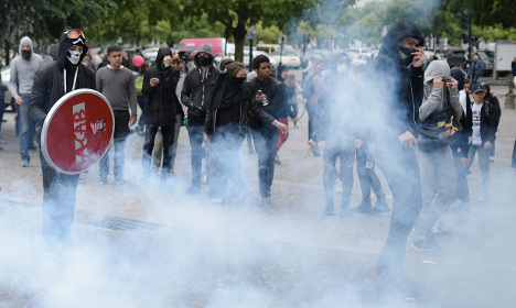 More clashes as protests turn violent across France