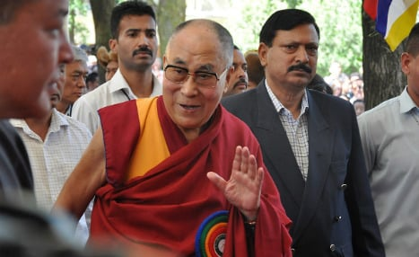 Dalai Lama says there are 'too many' refugees in Europe