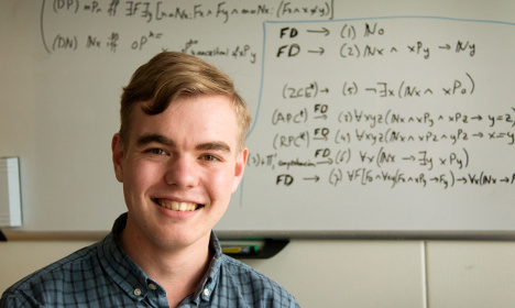 Meet the expat who is now Sweden's youngest PhD