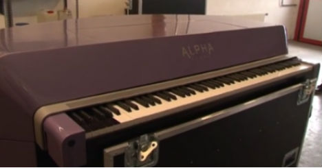 Prince's piano awaits auction in Austrian cellar