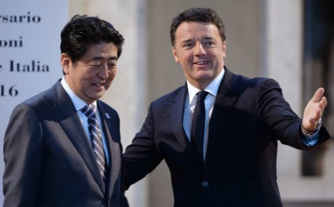 Italy and Japan urge G7 to spend for growth