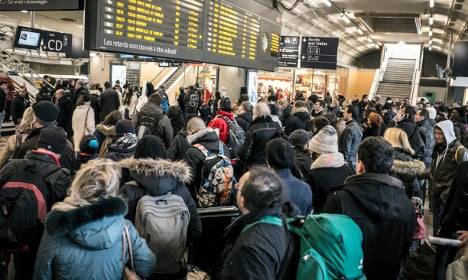 How French rail services will be hit by this week's strike