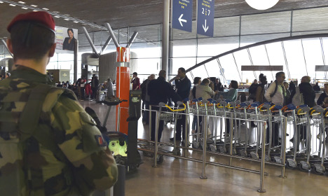 How good is security at Charles de Gaulle airport?