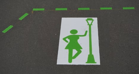 Signs lay down law and order for Basel prostitutes