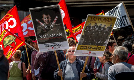 How can French strikers afford to keep striking?