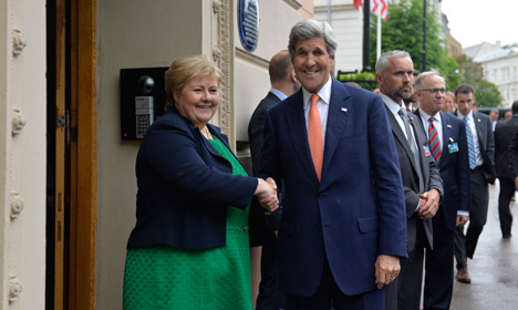 Kerry in Oslo: US patience on Syria 'very limited'