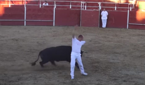 Spaniard dies after being gored in the heart at fiesta