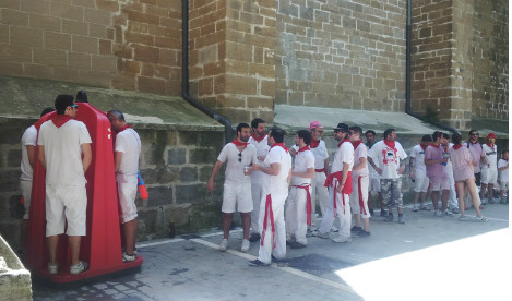 Pamplona fights fiesta urine with walls that 'pee back'