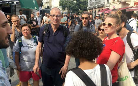 Gay German MP 'violently arrested' at Istanbul demo