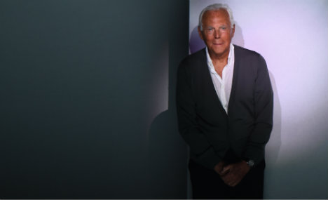 Italy's Armani tells trendsetter Britain to stay in EU