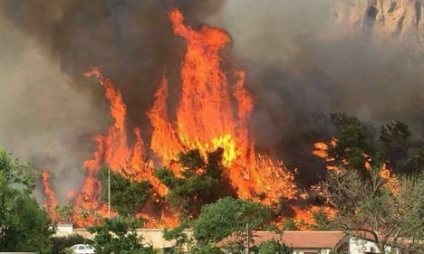 Arsonists suspected of causing Sicily wildfires