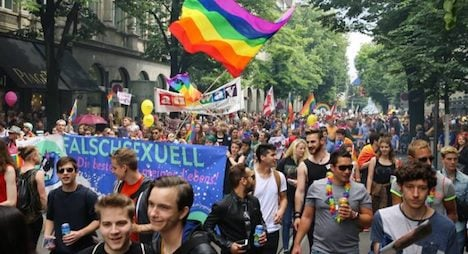 Pride Parade bangs the drum for LGBT rights