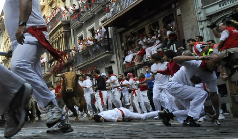 Will Obama be running with the bulls in Pamplona?