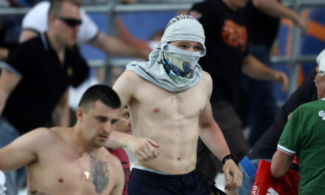 France holds 43 Russians over Marseille violence