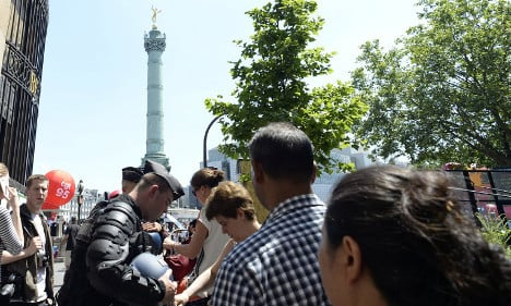 Paris: 2,500 police on alert for new labour law protest