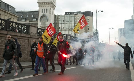 Various strikes continue to hit transport in France