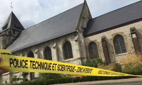 France church attacker had been arrested in Germany