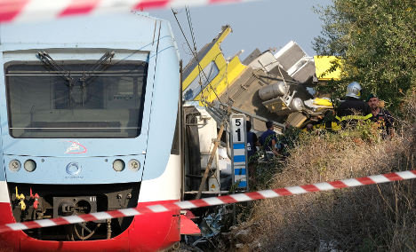 Twelve of the most recent train disasters in Europe