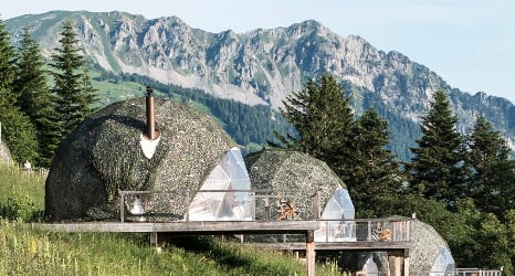 The quirkiest places to stay in Switzerland