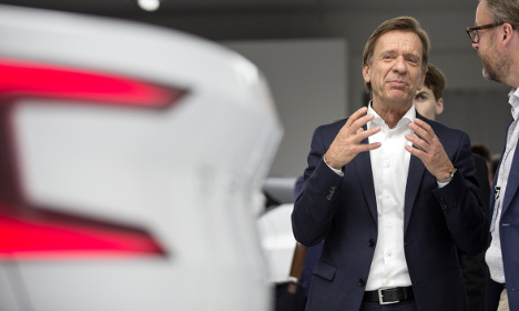 Swedish Volvo rev up for another sales record