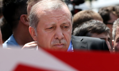 Germany urges Erdogan to treat coup plotters lawfully