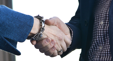 Muslim man fired for not shaking women's hands