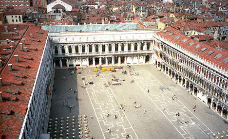 Tourist fined after drone crashes in St Mark's Square