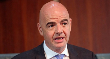 Fifa's Infantino cleared of ethics violations