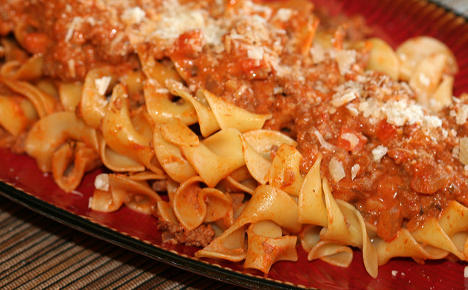 Italy's food purists rage over America's 'white bolognese'