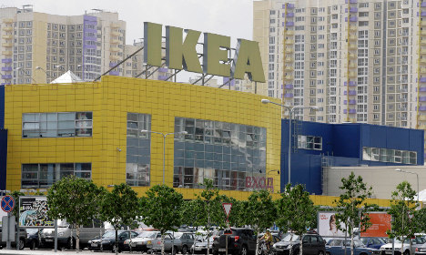 Ikea offices searched in Russian police raid