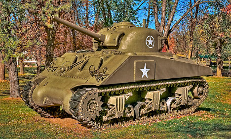 'Who wants to buy a tank?' asks French museum