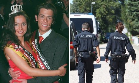 Germany-denying beauty king fights cops with guns, teeth