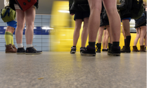 Berlin metro firm: It's really not cool to ride trains naked