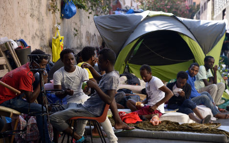 'Groundhog Day' for migrants in Rome cul-de-sac