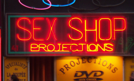 Frenchman dies after heart attack in sex shop