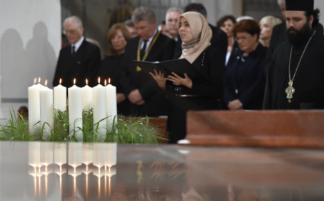 Munich shooting memorial calls for tolerance and peace