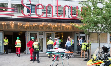 15 hurt as Oslo concert venue ceiling collapses