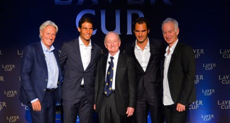 Federer teams up with Nadal for new tennis tournament