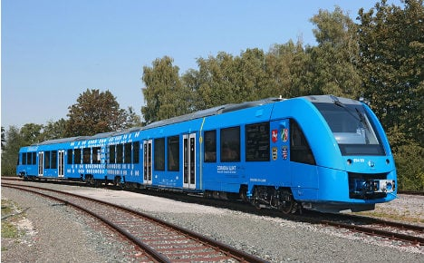 World's first hydrogen train to go into service in Germany