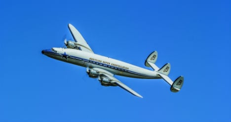 World's 'most beautiful airliner' flies into Vienna