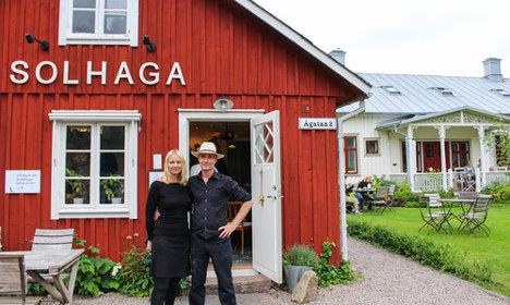 In pictures: Gorgeous summer home and bakery in Halland