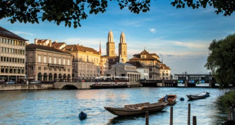 Zurich named 'greenest' city on the planet