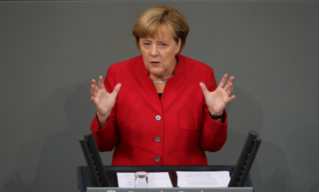 Merkel: situation in Germany 'much improved' in past year